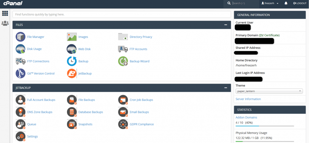 5cloudhost Cpanel Member Area