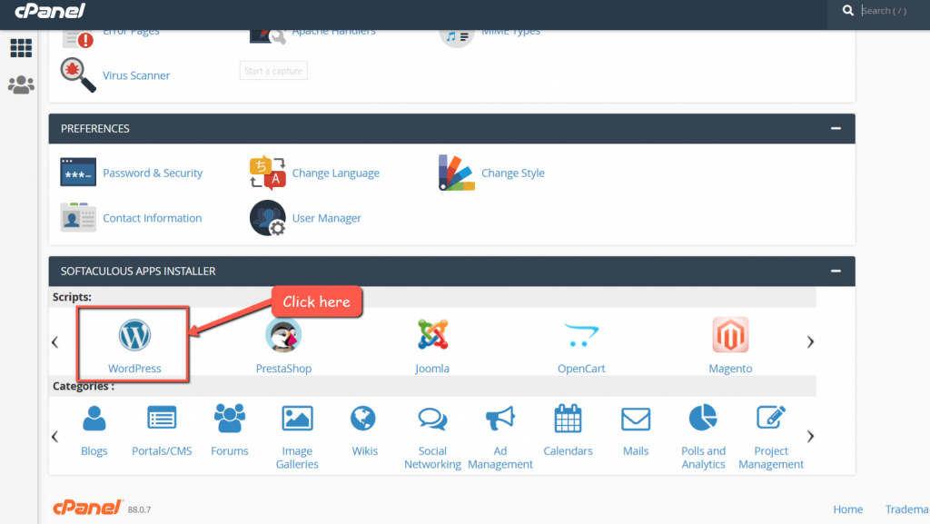 5cloudhost Cpanel WP Installer