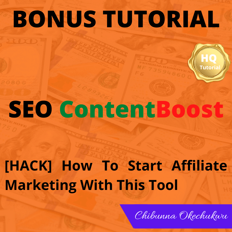 SEO ContentBoost Review Bobus Two